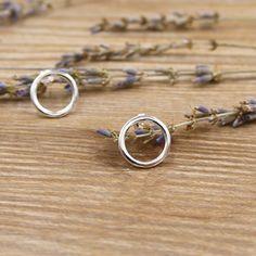 套圈圈純銀耳環/SE815-BLUMA布瑪小鎮設計師手作銀飾&復古飾品-