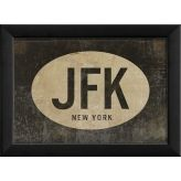 Cool Artwork for the office?  John F. Kennedy airport code framed print