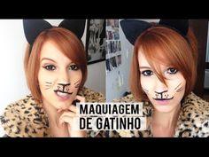 Maquiagem de gatinho para festa `a fantasia | Halloween | NADICA DE NADIA
