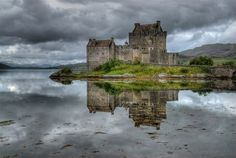 Eileen Don Castle in Scotland