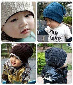 10pcs/lot thread kids hats infant cap Cotton Beanie children baby Hat