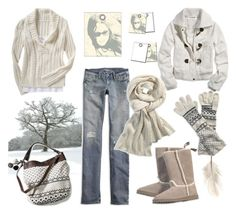 """""""simple white"""" by ansev ❤ liked on Polyvore featuring American Eagle Outfitters, Old Navy, women's clothing, women, female, woman, misses, juniors, budget and style steal"""