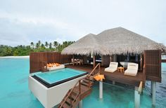 World's Best Overwater Bungalows | Fodors AYADA MALDIVES: Maldives One of the newest places to stay in the Maldives is the Ayada. The resort has a streamlined modern design, & bungalows come w/private verandas, plunge pools, & overwater hammocks. Unwind w/a visit to the AySpa, which features a Turkish hammam, or choose from 6 different restaurants that offer everything from Japanese to Indian food. Tip: Sign up for lessons in long-line fishing—if you're lucky, the chef will cook the day's…