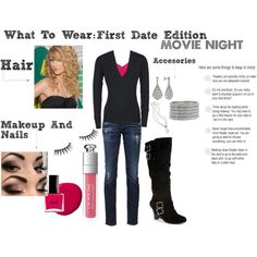 Doesn't have to first date-can be movie date!