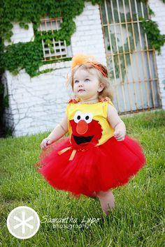 Elmo tutu -- good alternative to actual Elmo suit!?