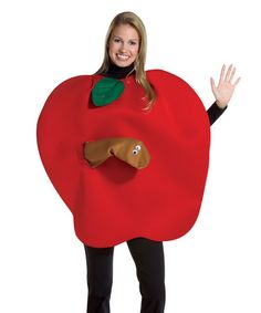 Look what I found on #zulily! Apple Costume - Adult #zulilyfinds