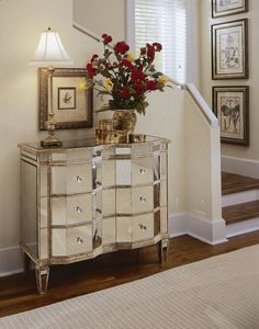 Transparent and Glasslike: Beautiful Curved Mirrored Drawer Ideas ~ Decoration Inspiration