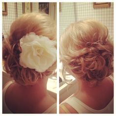 Mom - your hair would look very cute in this style...