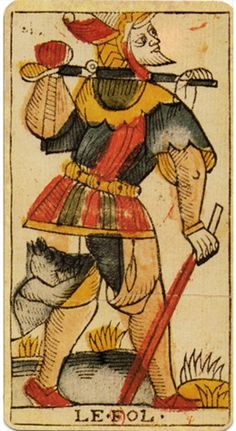 Jean Dodal Marseille Tarot the Fool