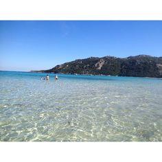 Santa Giulia beach  Porto vecchio Corsica
