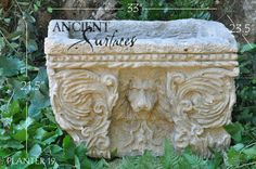 Antique Stone Planters and Pedestals by Ancient Surfaces Stone Planters, Animal Habitats, Architectural Antiques, French Countryside, Pedestal, Cool Things To Make, Creative Design, Landscape Design, Repurposed