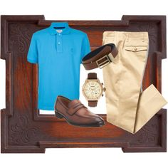 Men's Business Casual, created by texanbelle10 on Polyvore