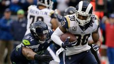 Todd Gurley runs wild in Rams' rout of Seahawks - Los Angeles Times