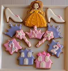 Belle Cookies - Love the wands!