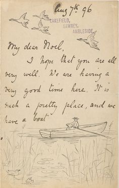 She reminds you to appreciate the little things.   11 Reasons Beatrix Potter Was The Most Charming Pen Pal Ever