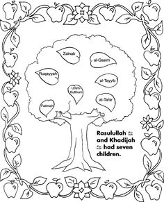 5 Pillars Of Islam Coloring Page - Coloring Pages For All Ages