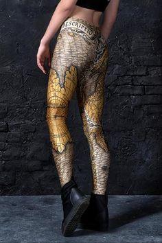 f65daad36 Ancient Leggings Leggings    BADINKA Soft Fabrics