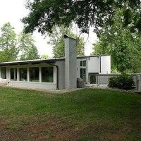 60's multilevel MCM in Sherwood Forest, designed by Alan Ingram