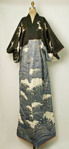 Ensemble, Dance, second half 20th century. Japanese. The Metropolitan Museum of Art, New York. Gift of Mr. Hajime Miwa, 1993 --- modernize the sleeves and neckline