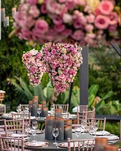 A beautiful floral decor with hanging center pieces at a hill side destination wedding. Best Wedding Guest Dresses, Alternative Wedding Dresses, Affordable Wedding Dresses, Wedding Goals, Destination Wedding, Dream Wedding, White Wine Glasses, Dress Alterations, Wedding Dress Accessories