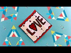 DIY - ENDLESS CARD - TUTORIAL / HOW TO MAKE NEVER ENDING CARD  / DIY CARD MAKING IDEAS - YouTube
