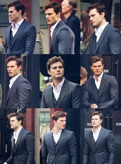 The Many Faces of Christian Grey