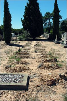 Child Cemetery (Nameless)   Franschhoek   Copyright of ©TheFirstChild Photograph Cape Town, Cemetery, Railroad Tracks, Child, History, Photography, Travel, Boys, Historia