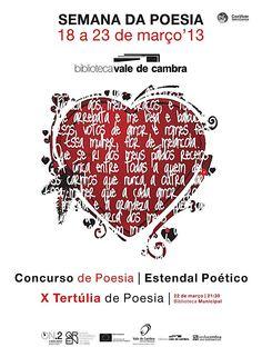 Semana da Poesia  > 18 a 23 Março 2013  @ Biblioteca Municipal de Vale de Cambra