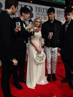 Cassandra Verity Green Fish Bowl Bag, Lucky Little Blighters AND Beau Homme spotted on Clean Bandits #Brits2014// Grace is the best!