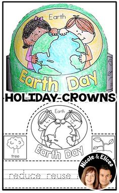 Celebrate the holidays throughout the year in your classroom with these cute, holiday crowns. They make a great addition to classroom parties. (English & Spanish)