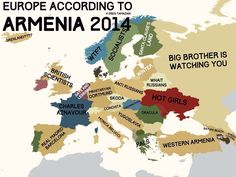 Europe according to Armenia