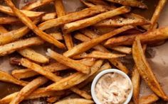 Double-fried French fries Recipe by Guy Fieri