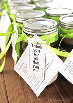 Cookie Recipe in a Jar with free printable tags