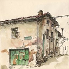 Calle La Flor, Guardo by Adolfo Arranz, via Flickr