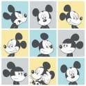 Galerie Official Disney Mickey Mouse Pop Art Pattern Cartoon Childrens Wallpaper MK3013-2