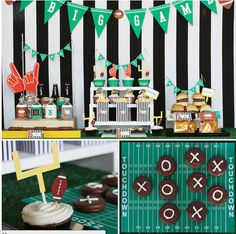 Have a fun football party at home! #superbowl