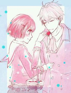 Aww  #dancewithdevils #ritsukatachibana #remarlond #remkaginuki - Grimoire Ritsuka