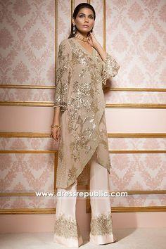 Elan Party Wear Dresses 2018 Toronto, Mississauga, Ottawa, Winnipeg, ON. Made to Order High end Fashion Dresses Shop Online. Pakistani Outfits, Indian Outfits, Pakistani Fashion Party Wear, Hijab Fashion, Fashion Dresses, Estilo Glamour, Party Wear Dresses, Online Dress Shopping, Indian Designer Wear