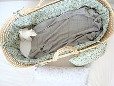 inspiration for moses basket re-do