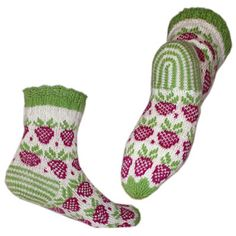 Ravelry: малина носки и напульсники узор на Jorid Linvik