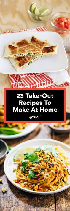 Leave those delivery menus in the drawer. #healthy #takeout #recipes http://greatist.com/eat/take-out-recipes-you-can-make-healthier-at-home