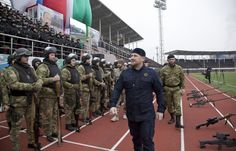 "The head of #Russia's Chechnya region, Ramzan Kadyrov, carried out an impromptu check on the republic's #military and security force battle preparedness. As many as 15,000 fully equipped members of various power structures exhibited a show of force in the capital of Grozny. They demonstrated their weapons, munitions, and means of communication. Each of has previously submitted a written statement on ""the readiness to act in support of Russia's legal interests,"" according to Kadyrov."