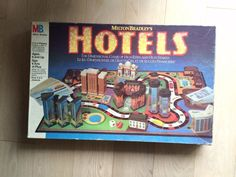 Rare Hotels Board Game 1987 Milton Bradley MB