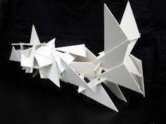 Resultado de imagen para esculturas abstractas en papel