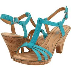 or something blue? These Born sandals are perf for an all day-on-the-feet-athon