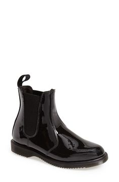Free shipping and returns on Dr. Martens 'Faun' Patent Chelsea Boot (Women) at Nordstrom.com. An essential Chelsea boot cast in patent leather punctuates your street style with a hint of old-school flair.