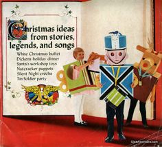 Storybook Christmas party ideas (1969)