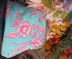 This framed purse makes a great accent to your wardrobe as well as a nice handmade Mother's Day gift.