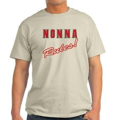 Italian nonna rules Ash Grey T-Shirt
