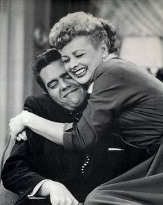 Lucy & Ricky of the I love Lucy Show